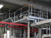 Arbeitsbühne, stationär aus Aluminium
