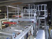 Sonderlösung stationäre Arbeitsbühne aus Aluminium