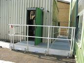 Aluminium Arbeitsbühne, stationär