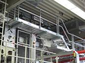 Sonderbau Arbeitsbühne aus Aluminium, stationär